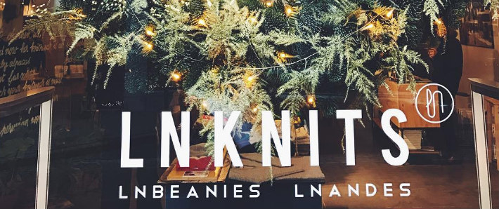 Find your Christmas presents in the #lnknitsflagshipstore