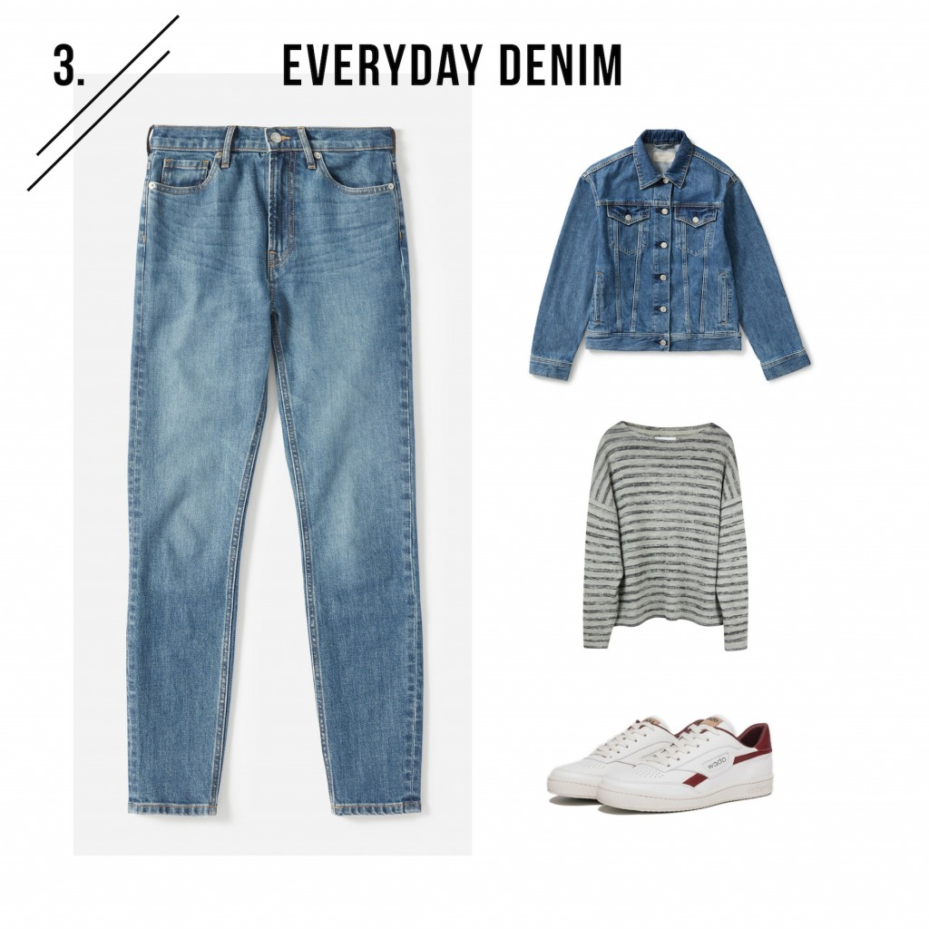 Outfit 3 - everyday denim